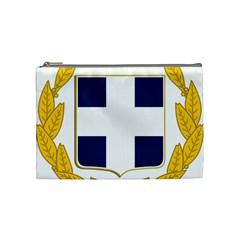 Greece National Emblem  Cosmetic Bag (medium)  by abbeyz71