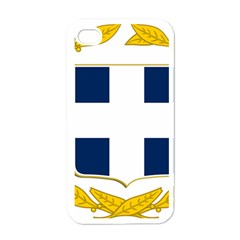 Greece National Emblem  Apple Iphone 4 Case (white) by abbeyz71