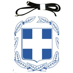 Greece National Emblem  Shoulder Sling Bags by abbeyz71
