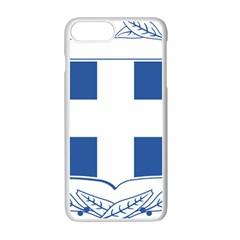 Greece National Emblem  Apple Iphone 7 Plus White Seamless Case by abbeyz71