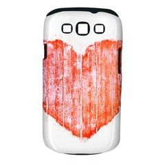 Pop Art Style Grunge Graphic Heart Samsung Galaxy S Iii Classic Hardshell Case (pc+silicone) by dflcprints
