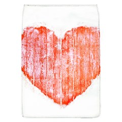 Pop Art Style Grunge Graphic Heart Flap Covers (l)  by dflcprints