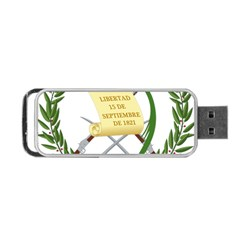 National Emblem Of Guatemala  Portable Usb Flash (two Sides) by abbeyz71