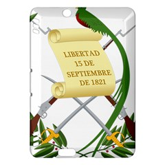 National Emblem Of Guatemala Kindle Fire Hdx Hardshell Case by abbeyz71