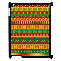 Mexican Pattern Apple iPad 2 Case (Black)