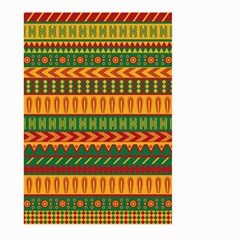 Mexican Pattern Large Garden Flag (two Sides) by Onesevenart