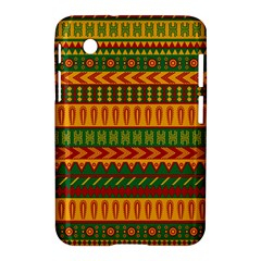Mexican Pattern Samsung Galaxy Tab 2 (7 ) P3100 Hardshell Case  by Onesevenart