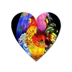 Chinese Zodiac Signs Heart Magnet by Onesevenart