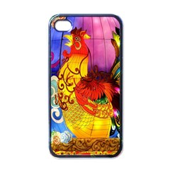 Chinese Zodiac Signs Apple Iphone 4 Case (black) by Onesevenart