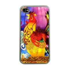 Chinese Zodiac Signs Apple Iphone 4 Case (clear) by Onesevenart