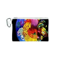 Chinese Zodiac Signs Canvas Cosmetic Bag (s) by Onesevenart