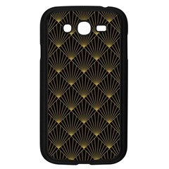 Abstract Stripes Pattern Samsung Galaxy Grand Duos I9082 Case (black) by Onesevenart