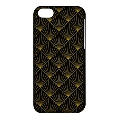 Abstract Stripes Pattern Apple Iphone 5c Hardshell Case by Onesevenart