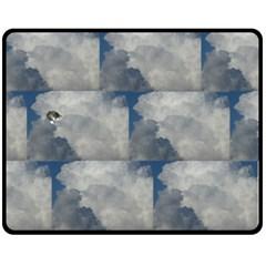 Stevie Sleeping In The Clouds Fleece Blanket (medium) by SusanFranzblau