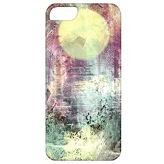 Frosty Pale Moon Apple Iphone 5 Classic Hardshell Case by theunrulyartist