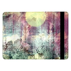 Frosty Pale Moon Samsung Galaxy Tab Pro 12 2  Flip Case by theunrulyartist