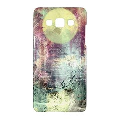 Frosty Pale Moon Samsung Galaxy A5 Hardshell Case  by theunrulyartist