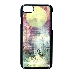 Frosty Pale Moon Apple Iphone 7 Seamless Case (black) by theunrulyartist