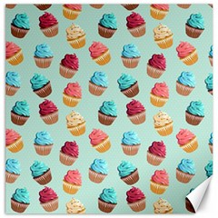 Cup Cakes Party Canvas 12  X 12   by tarastyle