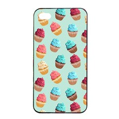 Cup Cakes Party Apple Iphone 4/4s Seamless Case (black) by tarastyle
