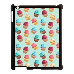 Cup Cakes Party Apple Ipad 3/4 Case (black) by tarastyle
