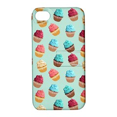 Cup Cakes Party Apple Iphone 4/4s Hardshell Case With Stand by tarastyle