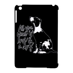 Dog Person Apple Ipad Mini Hardshell Case (compatible With Smart Cover) by Valentinaart
