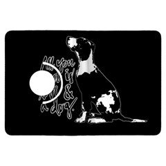 Dog Person Kindle Fire Hdx Flip 360 Case by Valentinaart