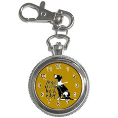 Dog Person Key Chain Watches by Valentinaart