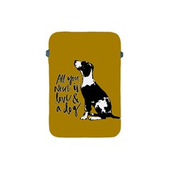 Dog Person Apple Ipad Mini Protective Soft Cases by Valentinaart
