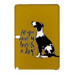 Dog Person Samsung Galaxy Tab Pro 10 1 Hardshell Case by Valentinaart