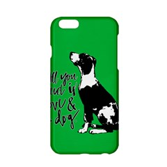Dog Person Apple Iphone 6/6s Hardshell Case by Valentinaart