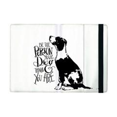 Dog Person Ipad Mini 2 Flip Cases by Valentinaart