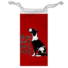 Dog Person Jewelry Bag by Valentinaart