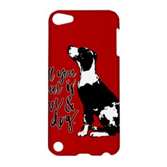 Dog Person Apple Ipod Touch 5 Hardshell Case by Valentinaart