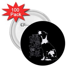 Dog Person 2 25  Buttons (100 Pack)  by Valentinaart