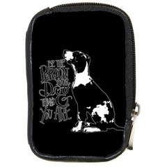 Dog Person Compact Camera Cases by Valentinaart