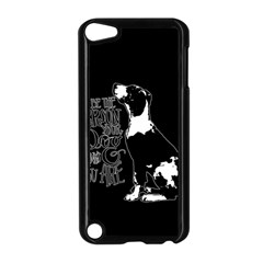 Dog Person Apple Ipod Touch 5 Case (black) by Valentinaart
