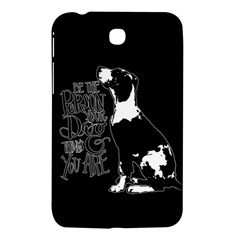 Dog Person Samsung Galaxy Tab 3 (7 ) P3200 Hardshell Case  by Valentinaart
