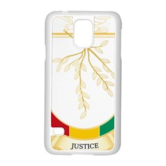 Coat of Arms of Republic of Guinea  Samsung Galaxy S5 Case (White) by abbeyz71