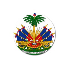 Coat Of Arms Of Haiti Magnet 3  (round) by abbeyz71