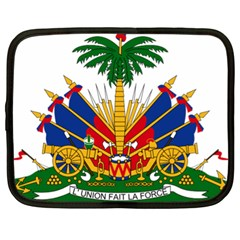 Coat Of Arms Of Haiti Netbook Case (xl)  by abbeyz71