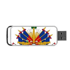 Coat Of Arms Of Haiti Portable Usb Flash (one Side) by abbeyz71
