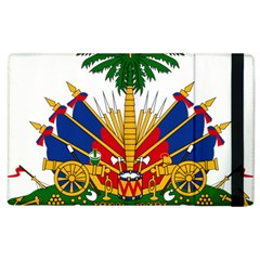 Coat Of Arms Of Haiti Apple Ipad 2 Flip Case by abbeyz71