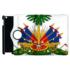 Coat Of Arms Of Haiti Apple Ipad 2 Flip 360 Case by abbeyz71