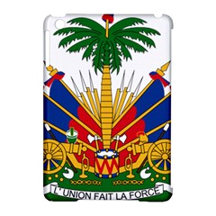 Coat Of Arms Of Haiti Apple Ipad Mini Hardshell Case (compatible With Smart Cover) by abbeyz71