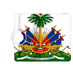 Coat Of Arms Of Haiti Kindle Fire Hdx 8 9  Flip 360 Case by abbeyz71