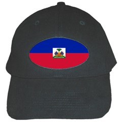 Flag Of Haiti  Black Cap by abbeyz71