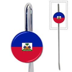 Flag Of Haiti  Book Mark by abbeyz71