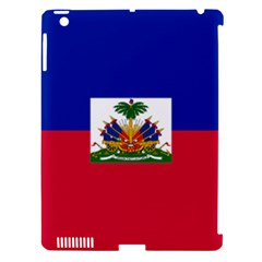 Flag Of Haiti  Apple Ipad 3/4 Hardshell Case (compatible With Smart Cover) by abbeyz71